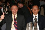 Lt-Col Gunawan and Lt-Col Hidayat from the Psychological Service of the Indonesian Army, a new IMTA member