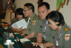 LCol Eri Hidayat and part of the 2011 Conference Team