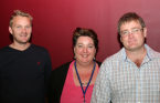 Jan Heimdal, Adelai van Heerden and Piet Bester: representing the three new IMTA Member Organizations