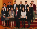 Dr Kwang-Pyo Choi and his conference team