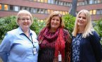 Anne Lindqvist, Rose-Marie Lindgren and Maria ForsBrandebo representing the hosting organizations. With special thanks to Anna Karin Berglund and Lena Carlsson.