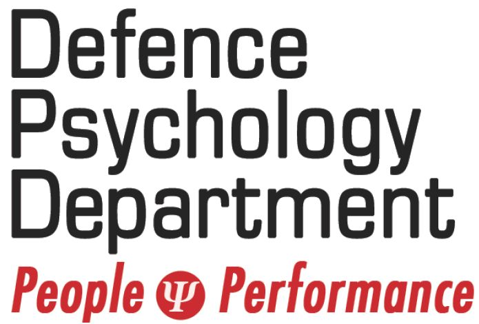 Logo of Defence Psychology Department